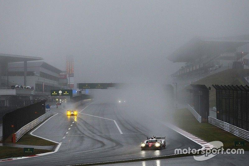 Il rischio pioggia comporta quello dell'interruzione della corsa