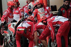 Start kesembilan, Dovizioso berharap balapan diguyur hujan