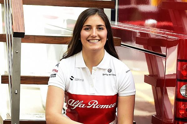 """F1 インタビュー 女性ドライバーのカルデロン、F1マシンのドライブは""""新しい一歩""""と語る"""