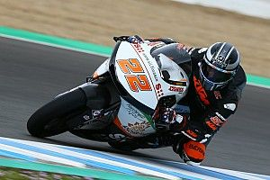 Tes Moto2 Jerez: Lowes-Lecuona tampil dominan