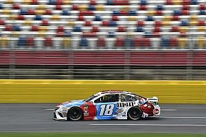 Kyle Busch wins Stage 1 of the Coke 600; Harvick wrecks