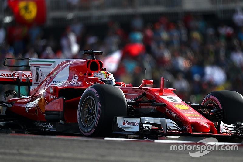 """Vettel """"sangat senang"""" tak terpaut jauh dari pole Hamilton"""