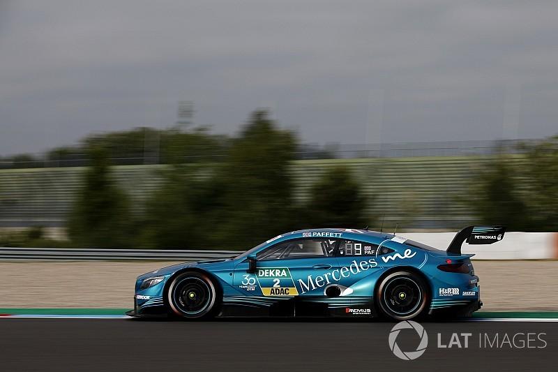 DTM Lausitzring: Paffett snelste in tweede training, Frijns vierde