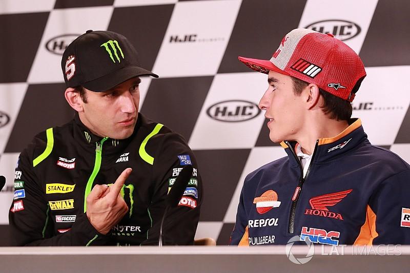 """Márquez: """"Hoy en día Zarco es el piloto número 1 de Yamaha"""""""