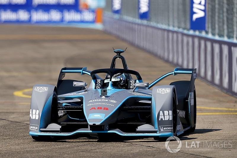 """Rosberg a """"attaqué à fond"""" au volant de la Gen2"""