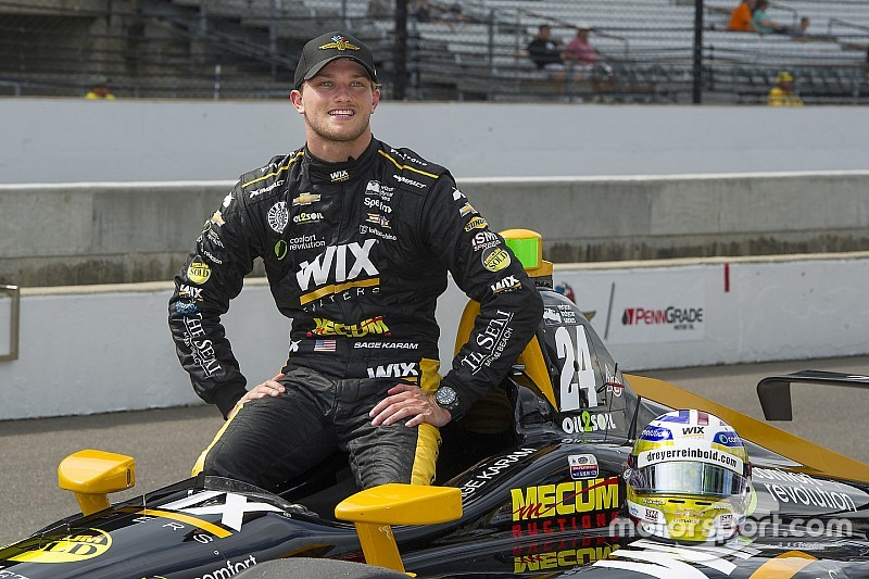 Karam returns to Dreyer & Reinbold for sixth Indy 500 bid