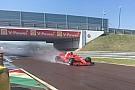 Kvyat completa su primer test con Ferrari en Fiorano