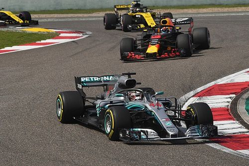 """A Mercedes szerint Hamilton a hétvégén """"nem volt a legjobb formájában"""""""