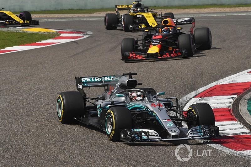 Mercedes admite que Hamilton no estuvo a su mejor nivel en China