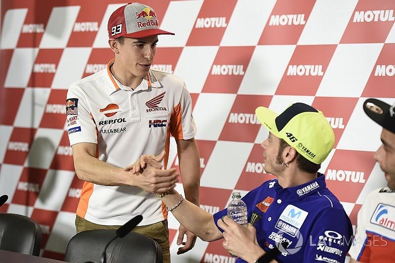 Horarios del GP de Francia: Rossi y Márquez volverán a coincidir en rueda de prensa