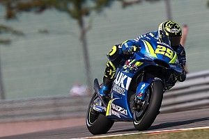 Sachsenring MotoGP: Iannone leads Marquez in FP1