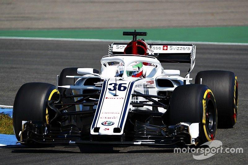 Sauber: Giovinazzi komt op plek van Leclerc en past in die traditie