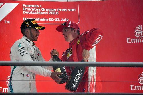 Las mejores fotos del intenso GP de Alemania de F1