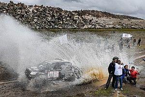 La amenaza meteorológica planea sobre el Dakar en Bolivia