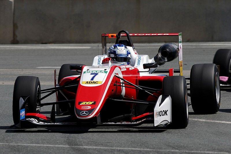 Арон выиграл вторую гонку Формулы 3 за день