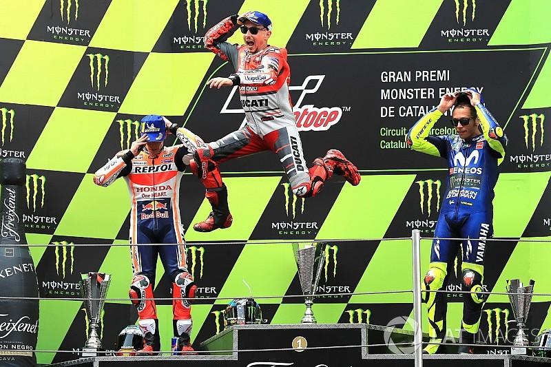 Barcelona MotoGP: Top photos from the race