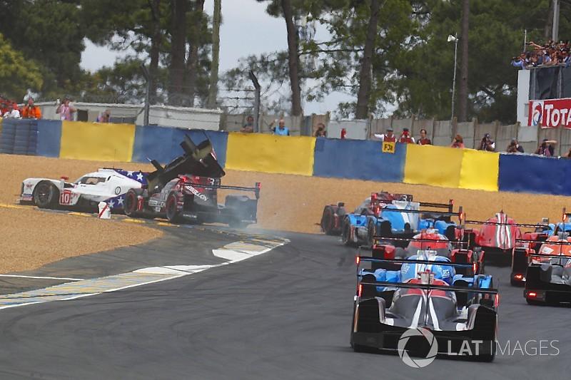 «24 часа Ле-Мана». 1-й час: авария на старте и лидерство Toyota