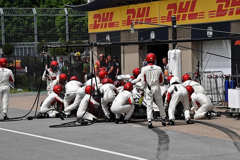 Ismét tartolt a Sauber: 2.37 másodperces kerékcsere Kanadában