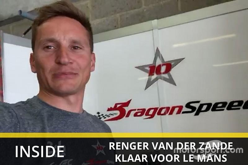 Video: Van der Zande maakt zich op voor Le Mans-debuut