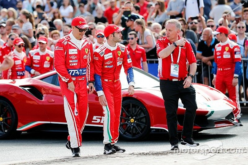Miguel Molina disputará la cita del WEC en Sebring con Ferrari