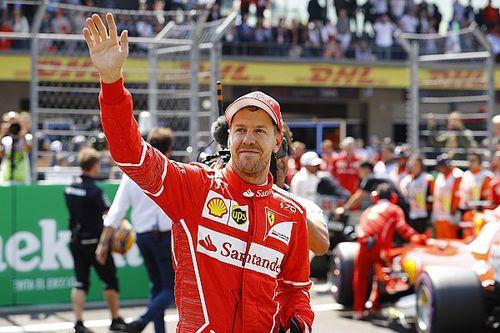 """Sebastian Vettel élu """"Pilote du Jour"""" du GP du Mexique 2017"""