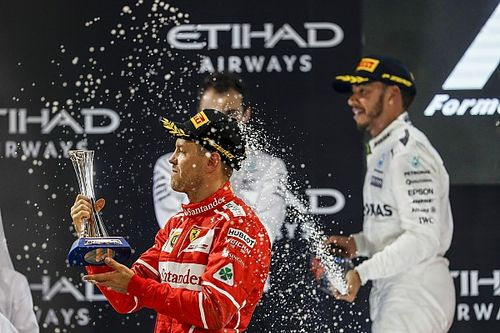 Vettel, Abu Dhabi GP'sinde yalnız kaldı
