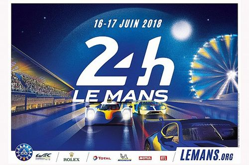 Le Mans 24 Hours 2018 poster unveiled