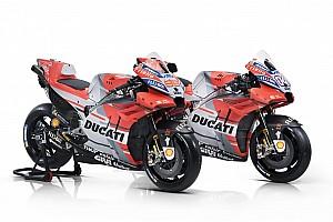 MotoGP Новость Ducati показала раскраску мотоцикла 2018 года