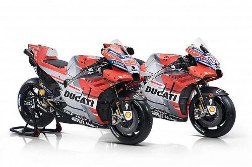 Ducati показала раскраску мотоцикла 2018 года