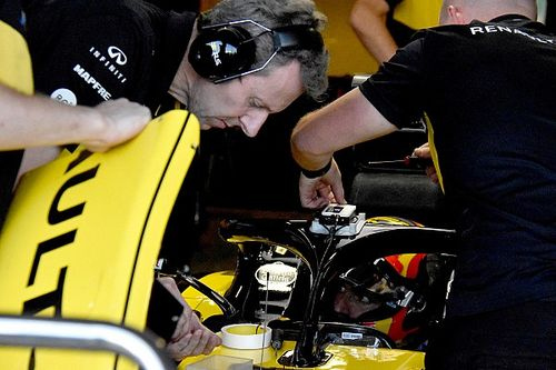 Renault: la FIA ha provato il PDM sull'Halo per migliorare le segnalazioni ai piloti