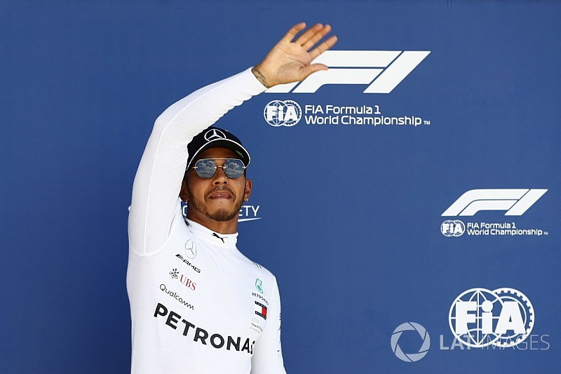 British GP: Hamilton grabs fourth straight Silverstone pole