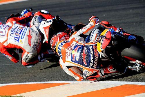 Marquez rekent niet op een vertragende Dovizioso, als Lorenzo in 2013