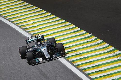 Top-vier binnen 0.058 in derde training Brazilië, Verstappen negende