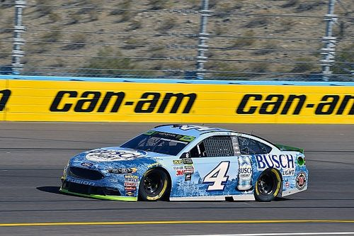 Harvick leads second Cup practice from Phoenix