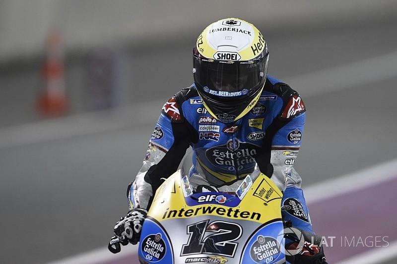 Fotostreck : Das Debüt von Thomas Lüthi in der MotoGP in Doha