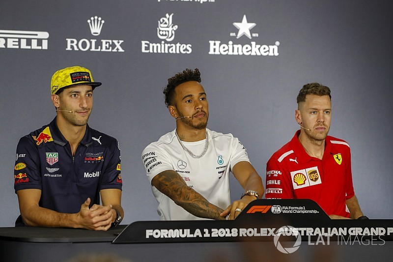 Australian GP: Thursday's press conference