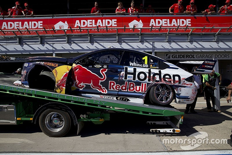 Whincup reflects on 'violent' qualifying shunt
