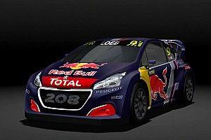 Peugeot dévoile la 208 RX pour le World Rallycross