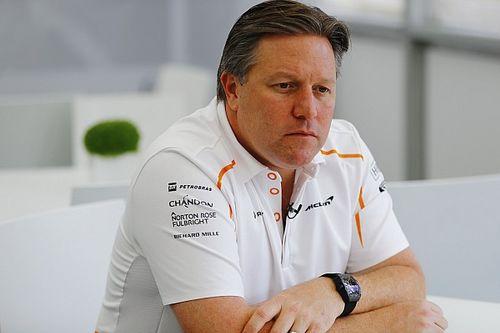 """Zak Brown: Eigener McLaren-Motor """"eher unwahrscheinlich"""""""