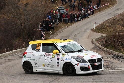 Suzuki Rally Trophy: la prima è di Simone Rivia al Ciocco