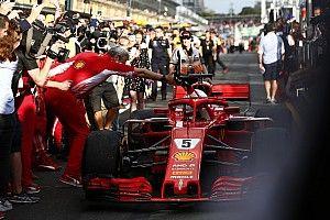 Fotogallery: Vettel e la Ferrari tingono di Rosso il GP d'Australia