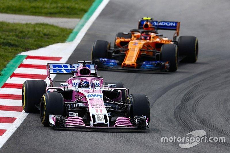 McLaren déclare son intérêt pour Pérez