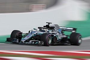 Formule 1 Résumé d'essais Bottas devance Giovinazzi à la mi-journée à Barcelone
