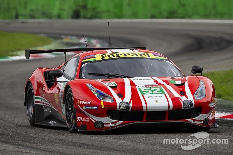 Ferrari: a Monza ha esordito la terza 488 GTE che correrà a Le Mans