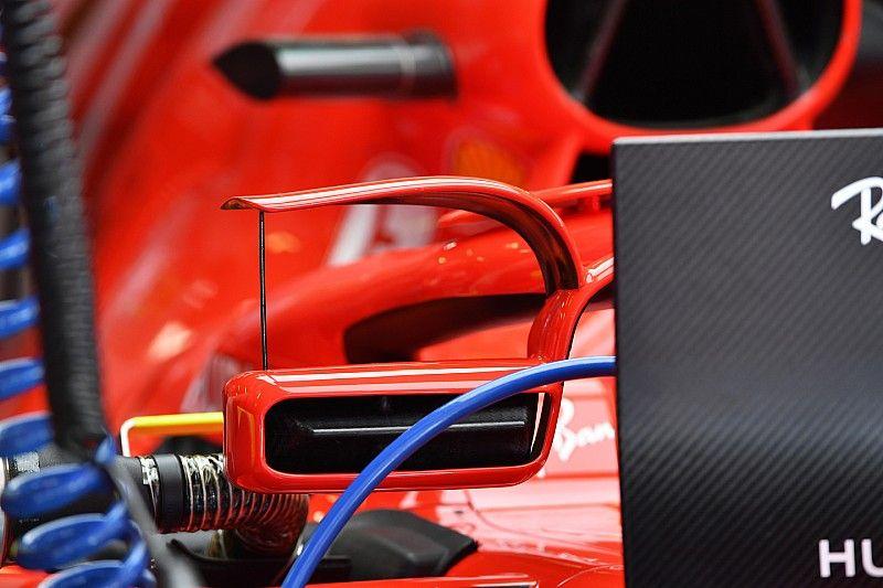FIA обязала Ferrari изменить крепление зеркал к Halo с этапа в Монако