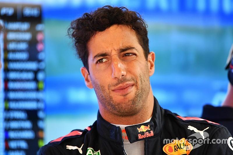 """Ricciardo se sintió """"herido"""" por el ritmo de Mercedes en clasificación"""