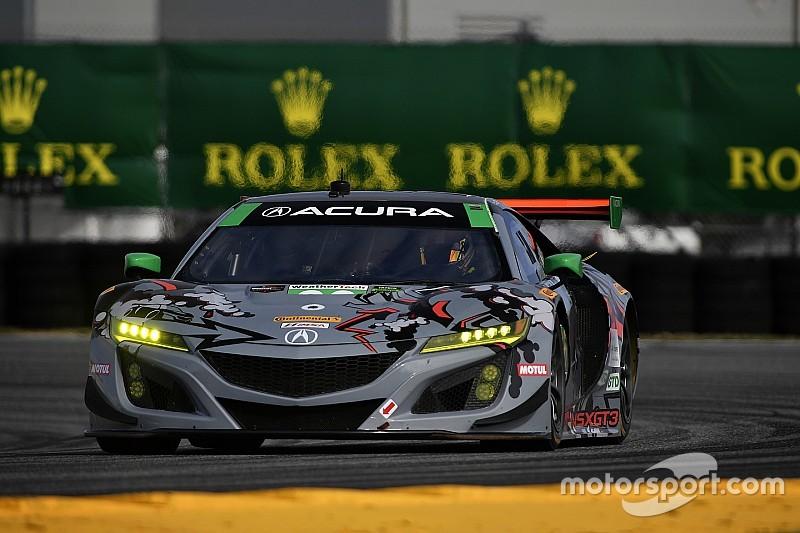 De Silvestro à Daytona sur une Acura GT3 du Michael Shank Racing