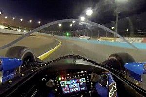 """بالفيديو: جولة مع سكوت ديكسون على متن سيارة إندي كار مزوّدة """"بحاجب الوقاية الشفّاف"""""""