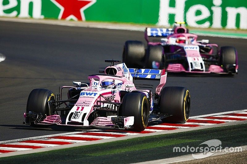 """Perez expects """"business as usual"""" for Force India at Spa"""