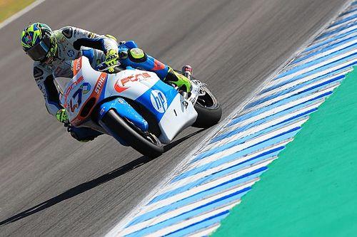 Baldassarri gana en Jerez y Márquez se complica el campeonato tras caerse
